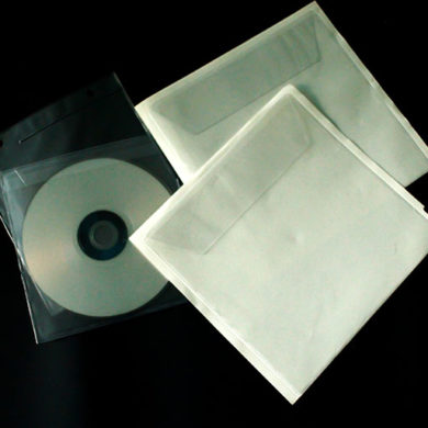 CD-Hüllen aus Kunststoff