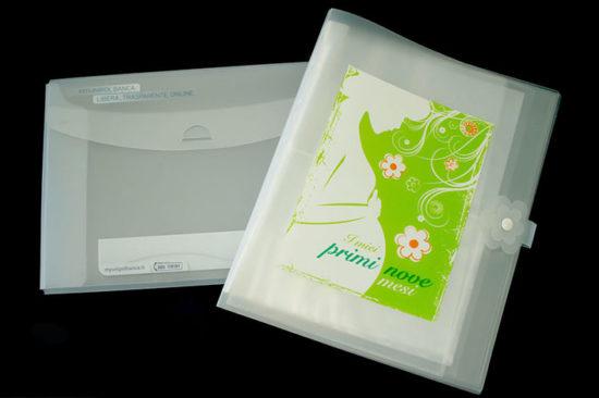 branded polypropylene folders