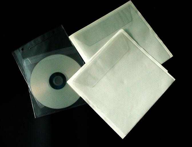 Cd dvd hüllen aus pvc zeta italy s r l